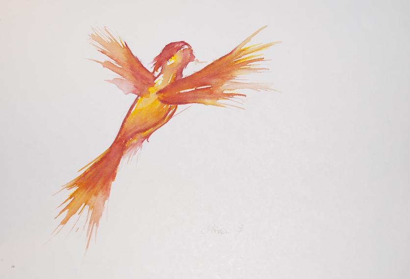 Phoenix by Miriam-Hiromi