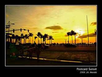 Postcard Sunset
