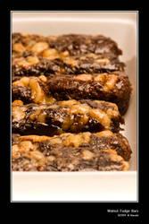 Walnut Fudge Bars