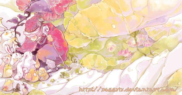 Lettuce girl 17