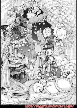arrange the Christmas tree