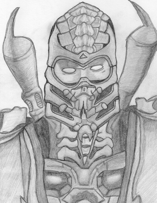 mortal kombat 9 scorpion by deathlouis on DeviantArt