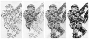 Halo 2 in steps