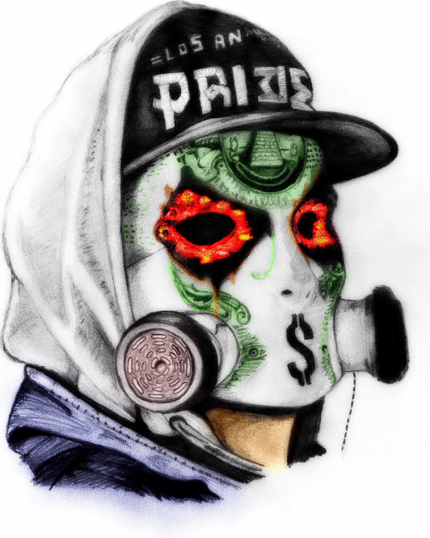 Hollywood Undead J-Dog Drawings