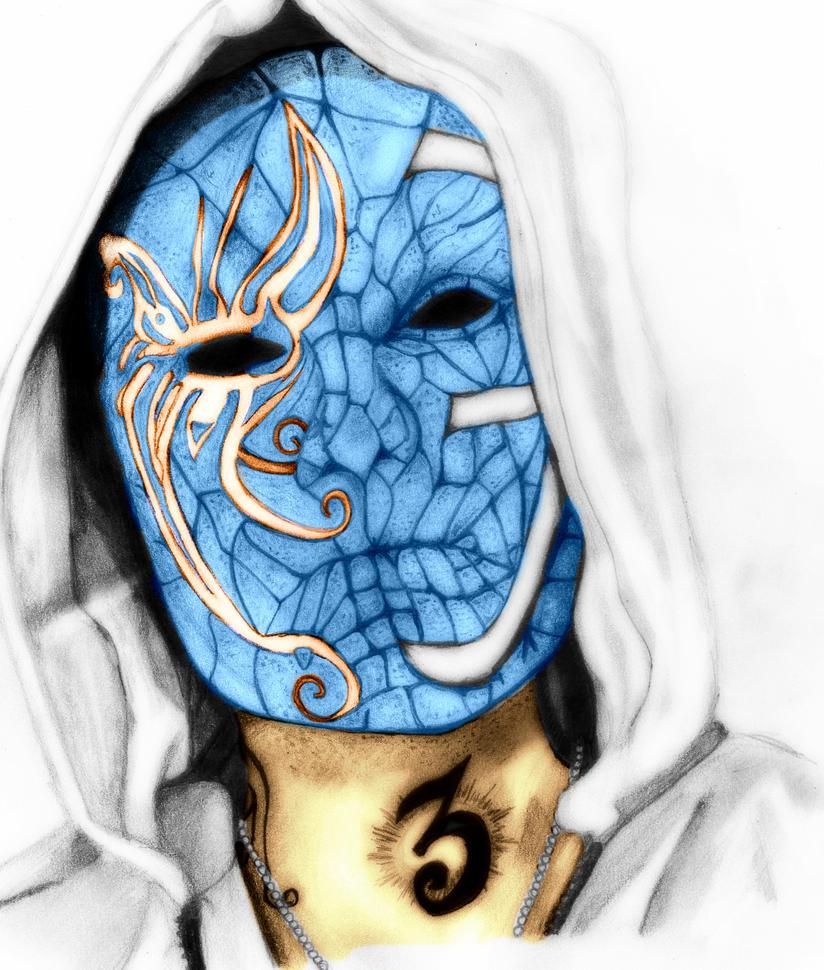 Hollywood Undead J Dog Mask 2013 Hollywood Undead - J3T