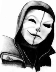 Hollywood Undead - Da Kurlzz (old mask) by deathlouis