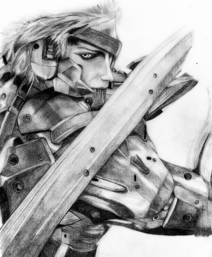 Metal Gear Rising - Raiden by deathlouis