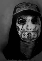 Hollywood Undead - J-Dog by deathlouis
