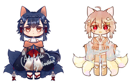 [OPEN]Adoptable Colab with my friend!