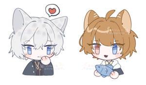 [OC] Rei and Kei