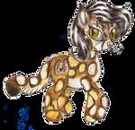 Custom Minecraft Ocelot Pony for KatVizionz