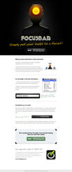 Focusbar website by tomeqq