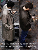 Misha and Jensen texts... by jakexj4evr