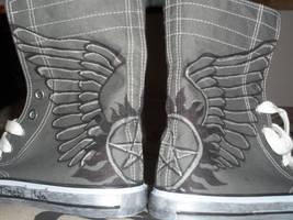 omg supernatural shoes. by jakexj4evr