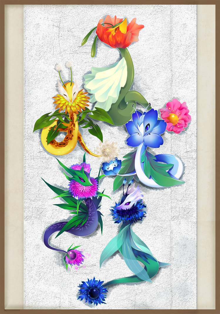[Set Price Reduced] Wildflowers (2/5 OPEN) by cepphiro