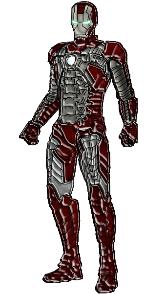 Ironman Mark V By Lord Dimanche On Deviantart