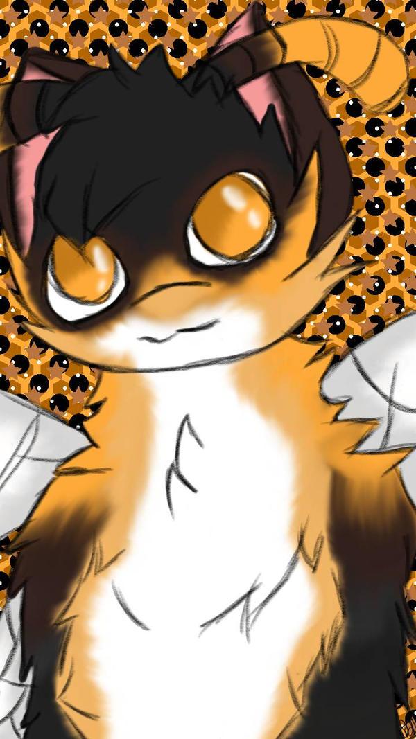 Honeybee Furry background #2