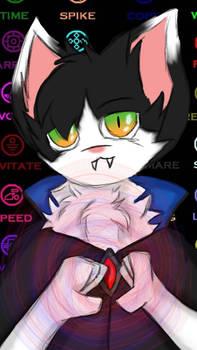 meh kitty as dr. srange