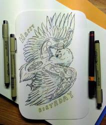chicken-on-a-card 2.0
