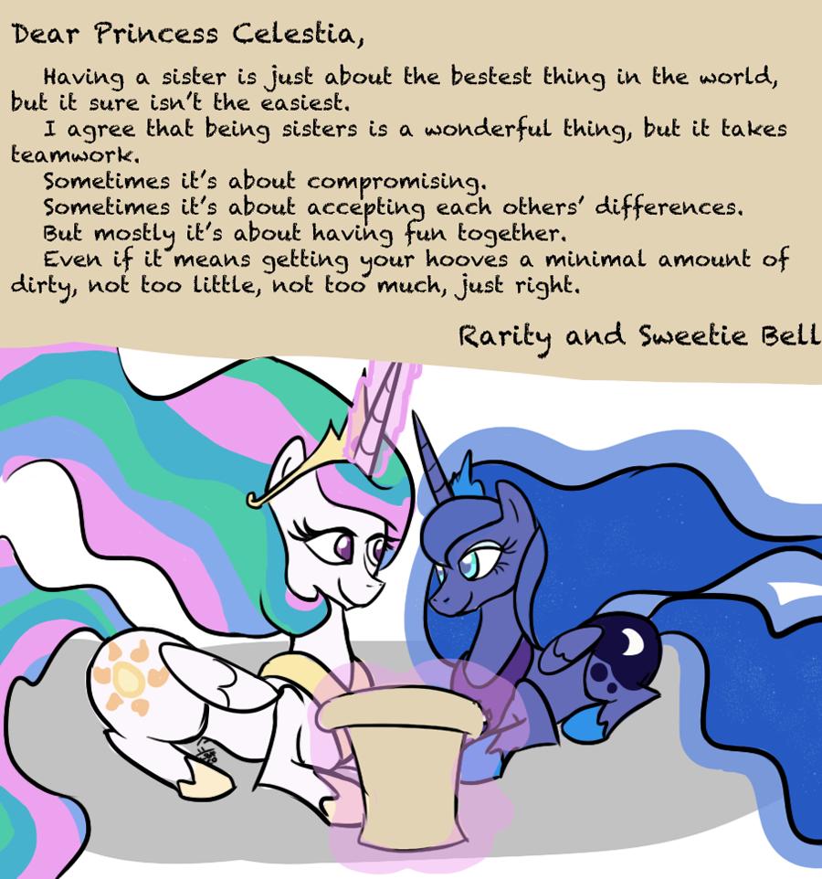 MLP- Dear Princesses by InvderLava