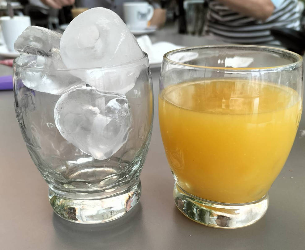 ice and juice