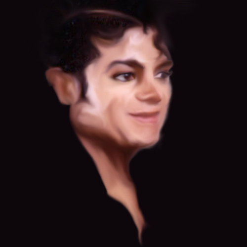 Michael Jackson Portrait by LadyLuck89