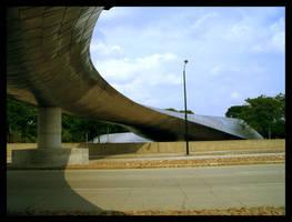 BP Pedestrian Bridge - Chicago by thisisdan