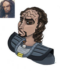 Argan The Klingon by VexedVortex