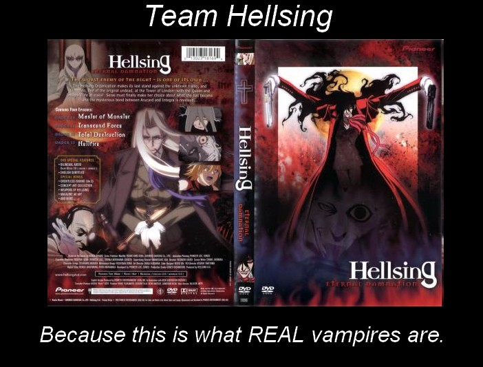 Team Hellsing by MidnightAislinn