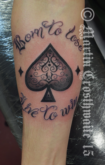 Ace of Spades Tattoo by mxw8 on DeviantArt