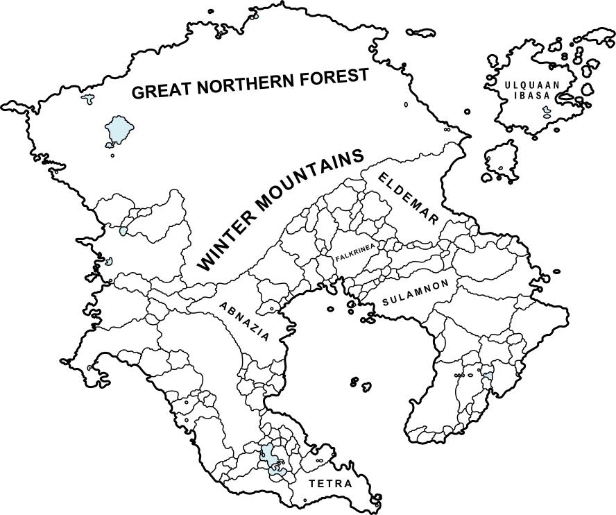 Altazia - Political Outline by dodo-ptica