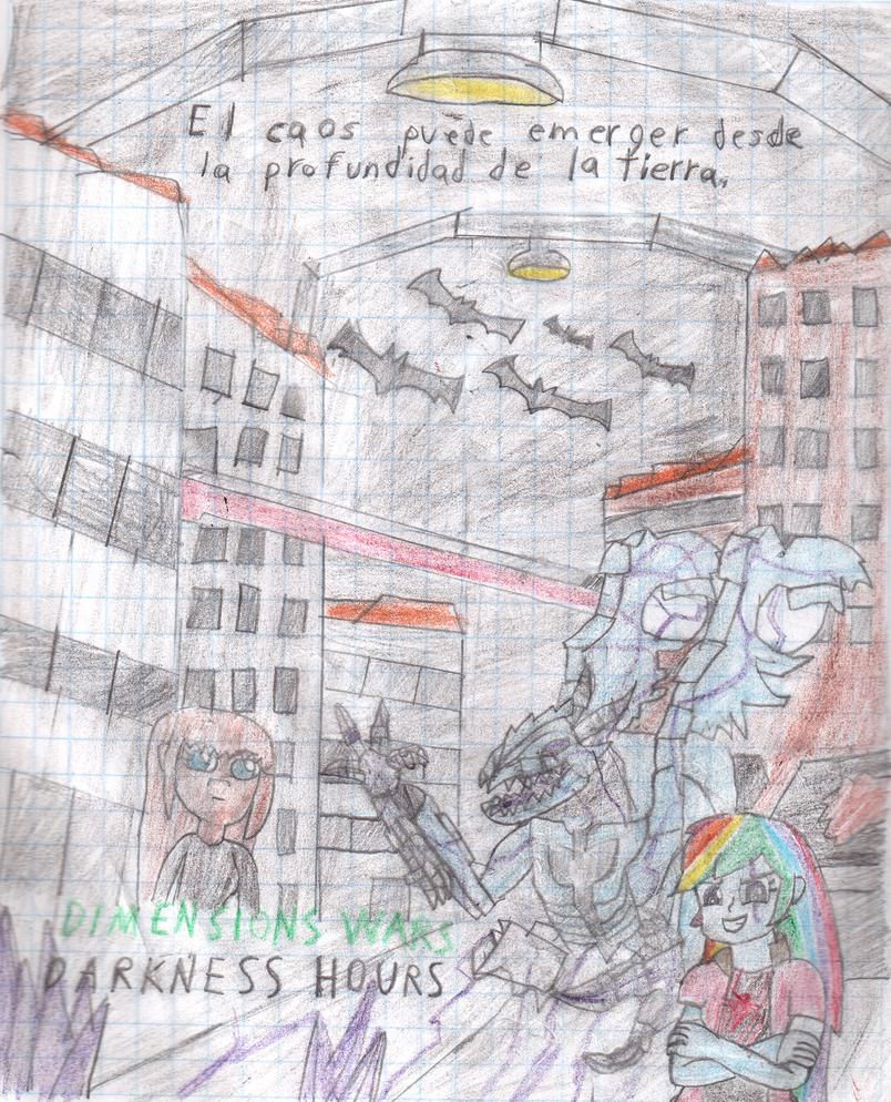 Dimensions Wars Darkness Hours 3-5 (underground) by tecnocobra