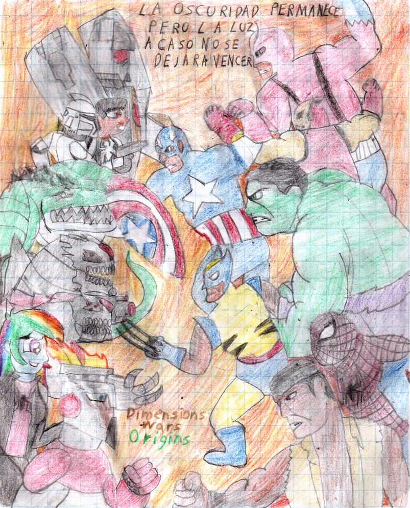 Dimensions Wars Origins 2-2 (battle Cry) by tecnocobra