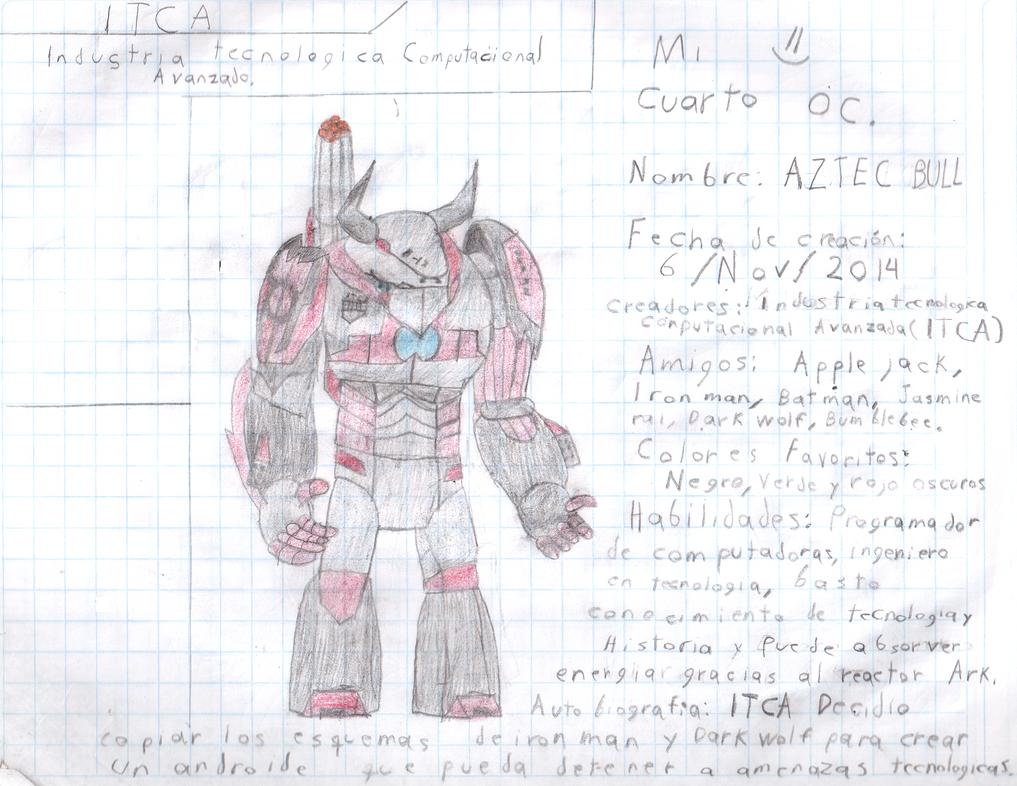 Mi Cuarto Oc : Aztec Bull by tecnocobra