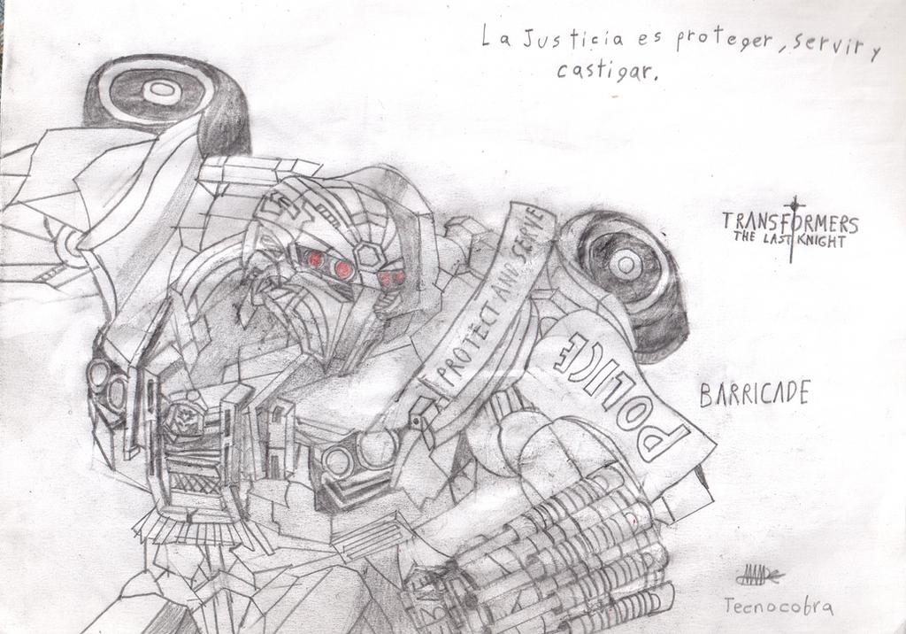 TF5: BARRICADE by tecnocobra