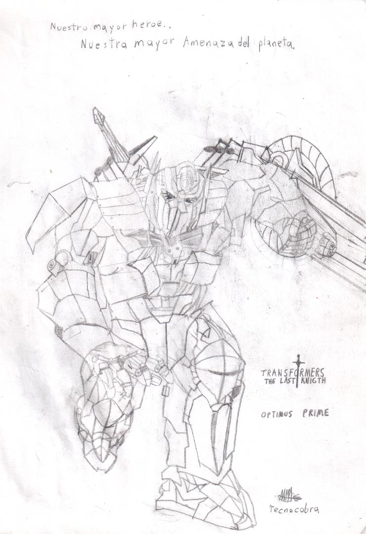 TF5: OPTIMUS PRIME by tecnocobra