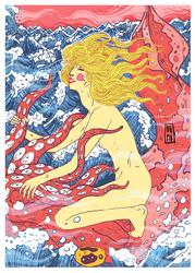 Erotica Saga of Woman and Squid by Raven-HD-Maverick