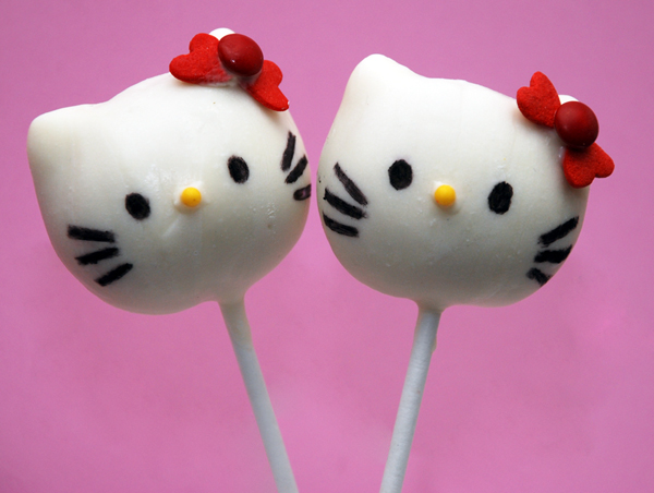 hello kitty cake pops - photo #24