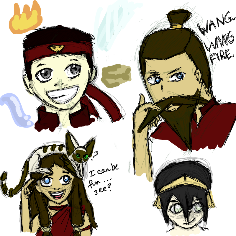 Avatar Book 2: Avatar Book 3 Sketchdump By Insaneular On DeviantArt