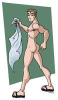 Towel Boy 2006 by davidd13