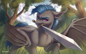 Sword by Fenwaru