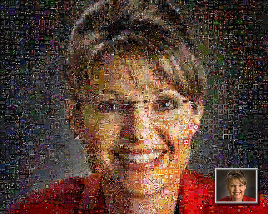 Palin photomosaic by drsparc
