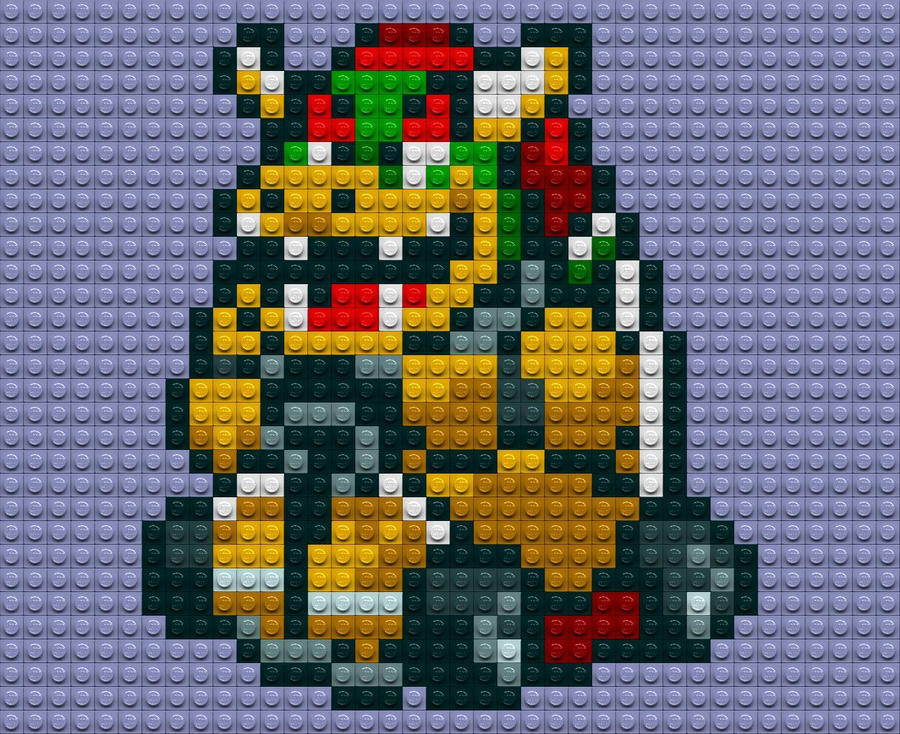Bowser Kart Lego by drsparc
