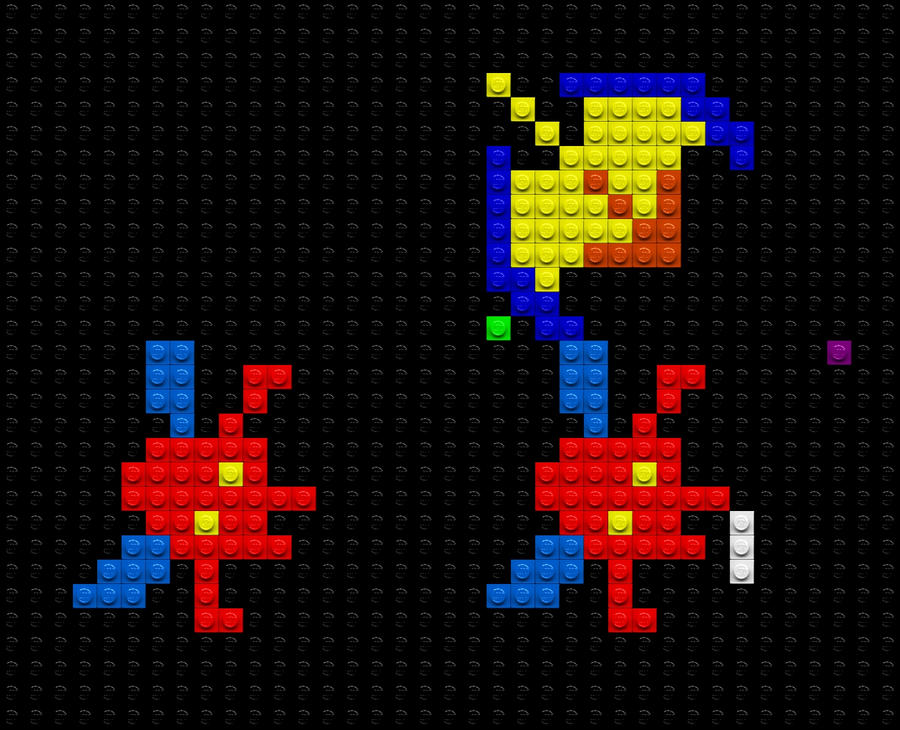 lego galaxian attack by drsparc on deviantart