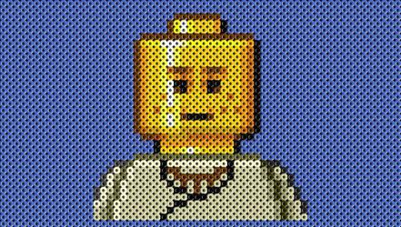 Perlerbead Lego Dude