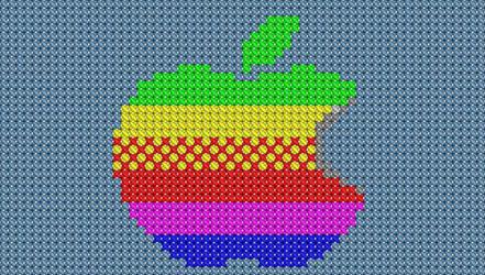 Apple Crossstitch