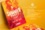 Summer Party | Psd Flyer Template