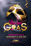 Mardi Gras - Flyer Psd Templates by RomeCreation