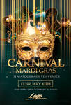 Mardi Gras Flyer Psd Templates by RomeCreation