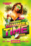 Summer Psd Flyer by RomeCreation